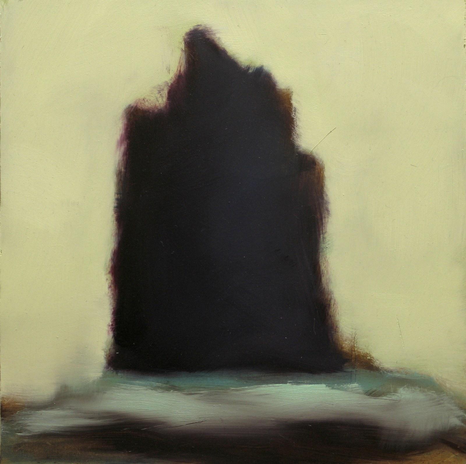 Aleksis, öljy levylle, 25 x 25cm, 2009
