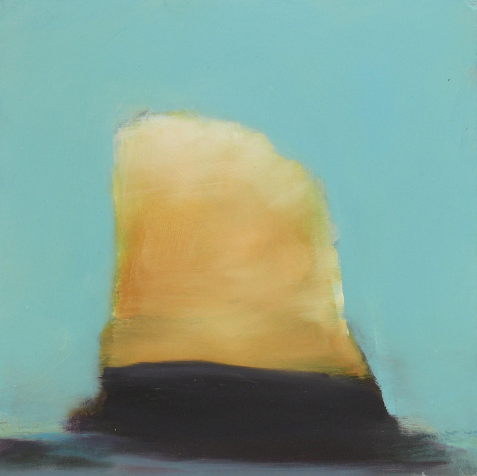 Doge, öljy levyllle, 25 x 25cm,  2009