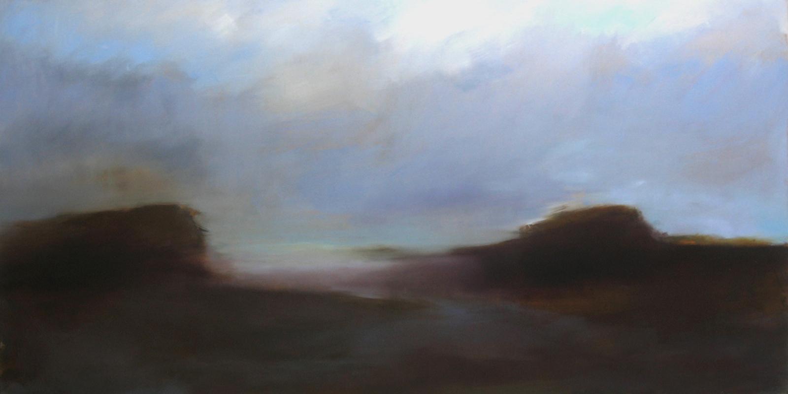 Katoavaisuus, öljy levylle, 240 x 122cm, 2006
