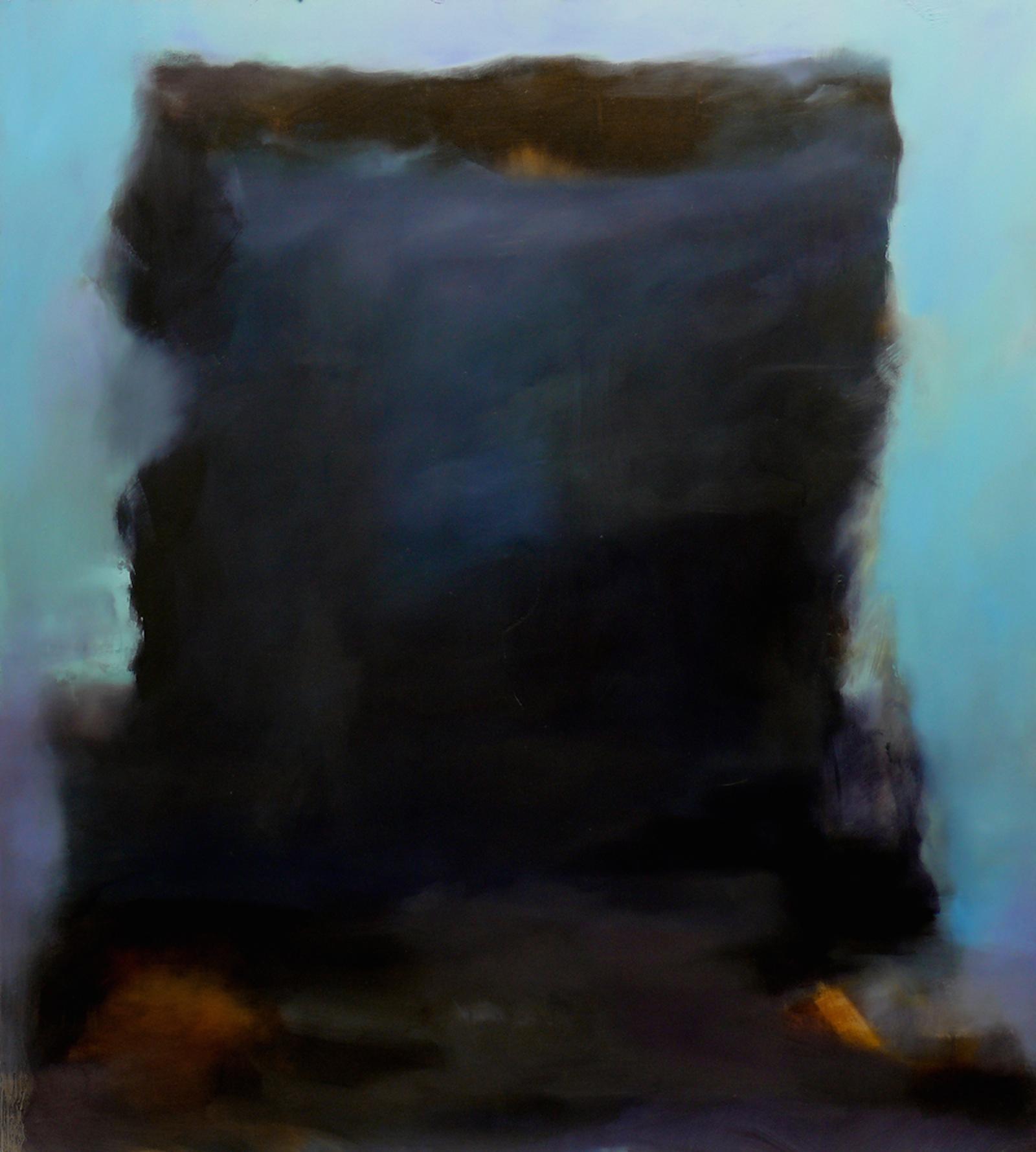 Myrsky, öljy levylle, 110 x 122cm, 2009