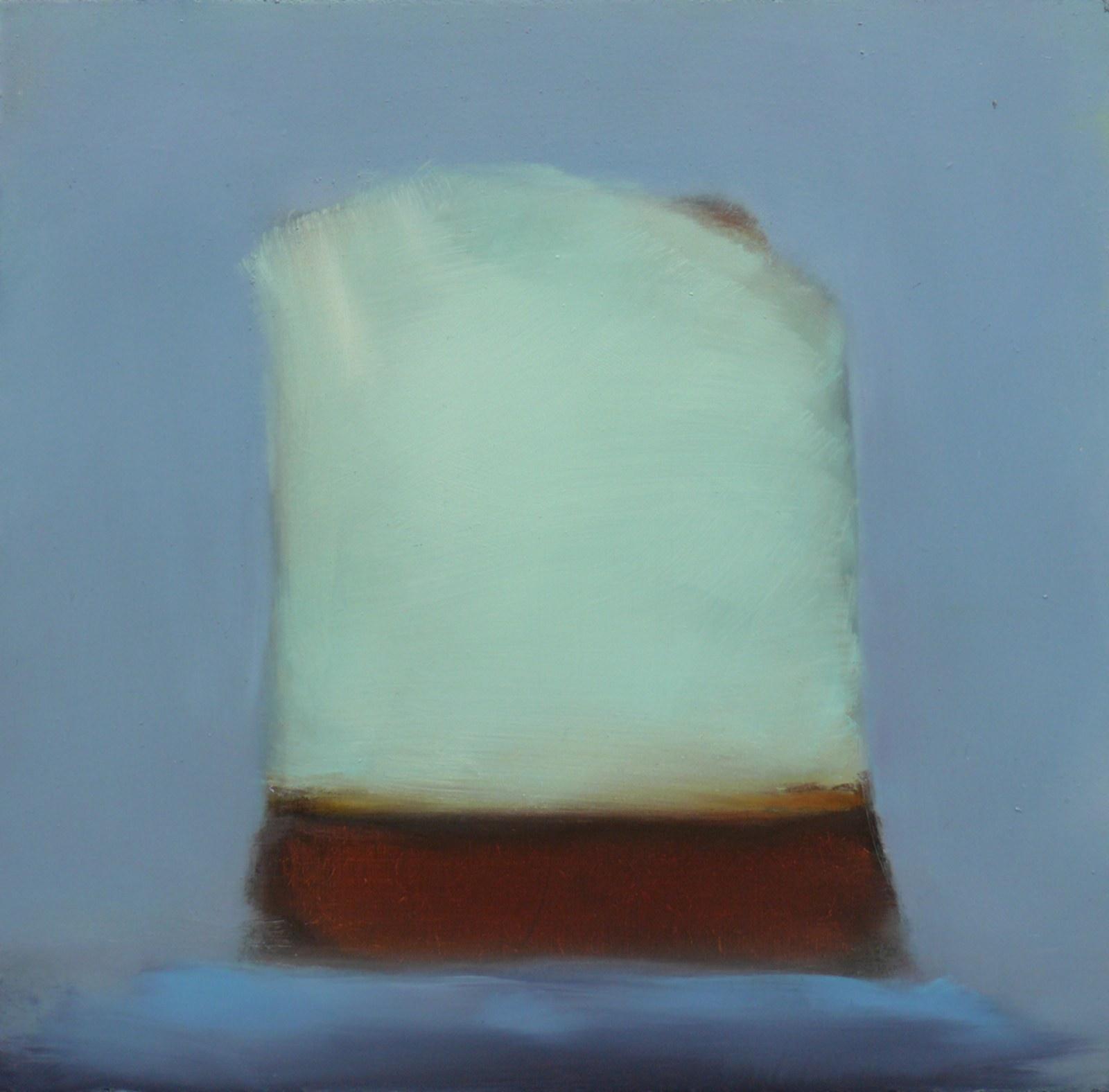 Rosenhill 2, öljy levylle, 25 x 25cm, 2009