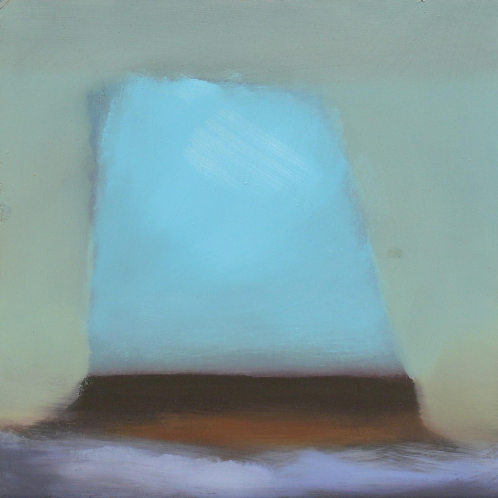 Rosenhill, öljy levyllle, 25 x 25cm, 2009