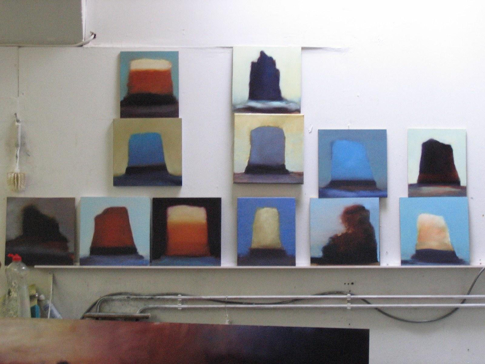Studio view, Helsinki, 2009